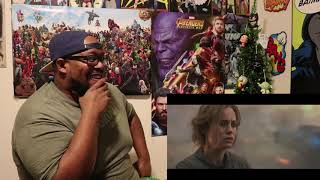 Marvel Studios' Captain Marvel - Trailer 2 REACTION