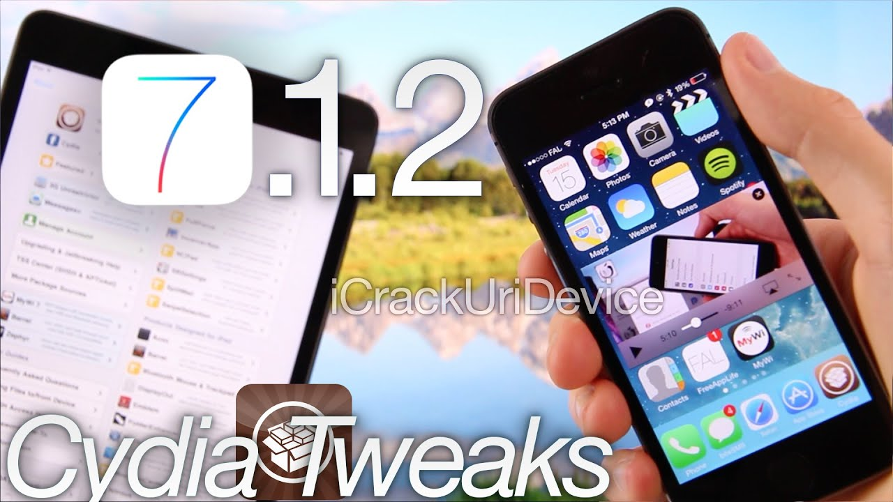 Best 10 Top Cydia Tweaks For Ios 7 1 2 Jailbreak 7 1 Pangu Iphone 5s 5c 4s Ipod Ipad Air Mini 2 Youtube