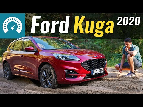 Ford Kuga 3-е поколение Кроссовер