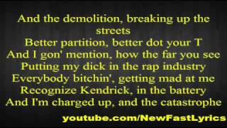 Kendrick Lamar feat. Busta Rhymes - Rigamortis (Lyrics)