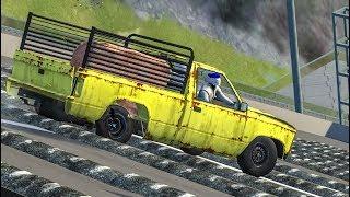 STIG SPEEDBUMPS AT MAX SPEED #3 - BeamNG Drive Crashes