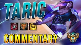 [7.15] Challenger Support Taric Commentary