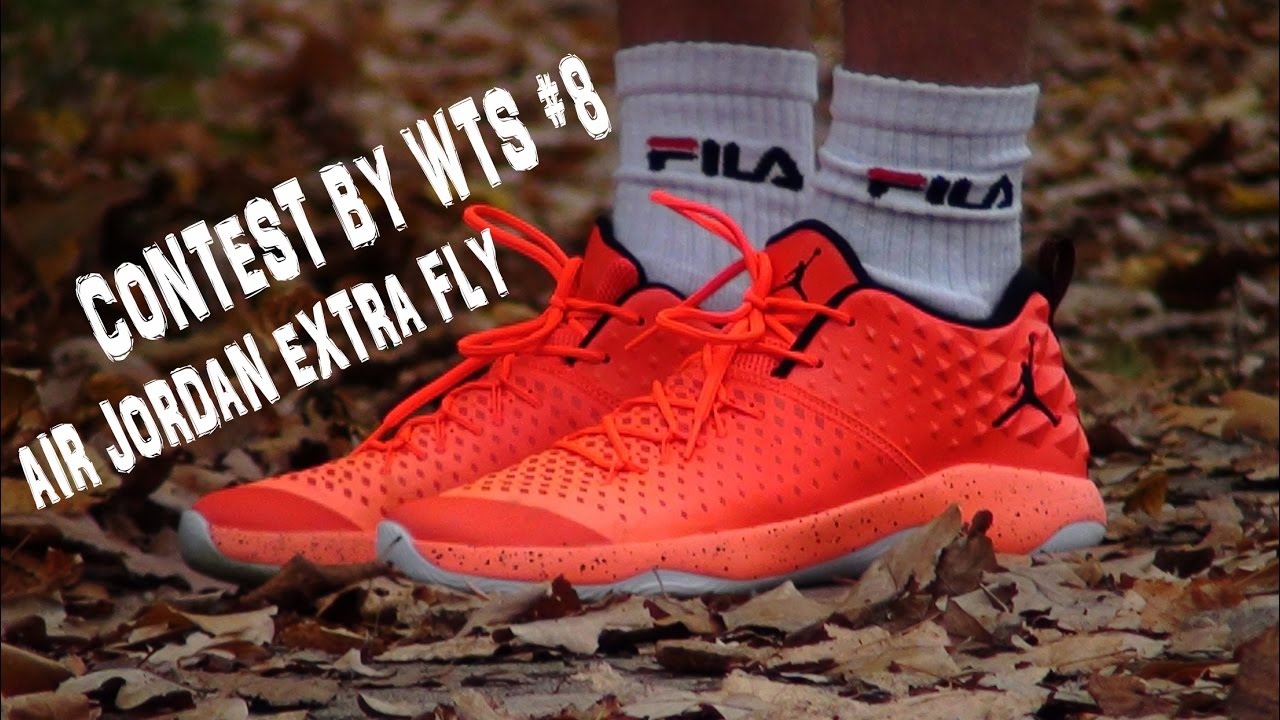 2b350d1a ВИДЕО ОБЗОР КРОССОВОК - AIR JORDAN EXTRA FLY - Contest by WTS #8 ...