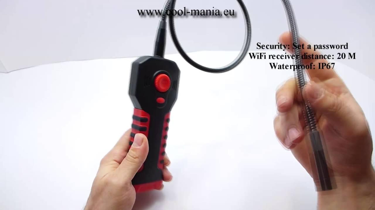WiFi endoscope HD 1280x720 (cool-mania com)