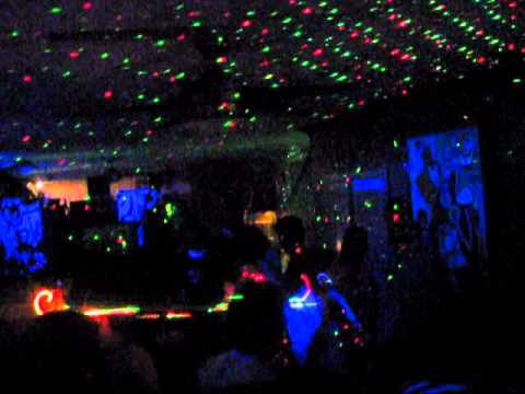 Lights OUT Laser Black Light Party with DJ Landon 2012