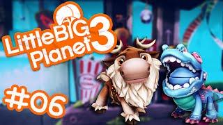 LittleBigPlanet 3 #06 - ODDSOCK ESTÁ LIVRE! ft. Sven e Jacarezinho