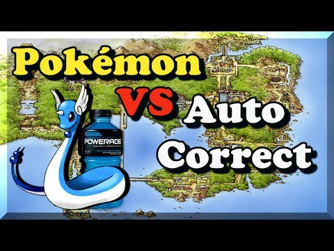 Pokémon VS Auto Correct Gen 1 - Bulba Tube
