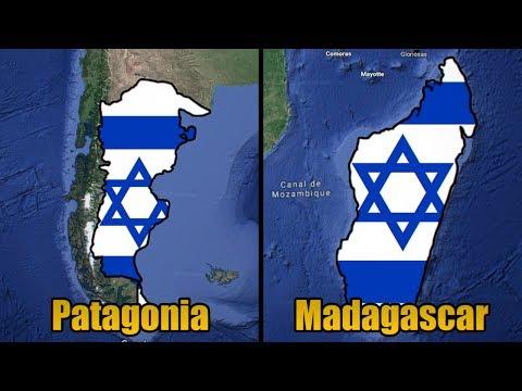 Lugares Del Mundo Donde Pudo Fundarse Israel - Propuestas Para Un Estado Judío Antes De 1949.