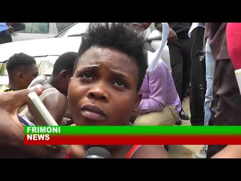 BREAKING NEWS IN NIGERIA  LAGOS POLICE PARADES ALLEGED UBER KILLER AND OTHERS