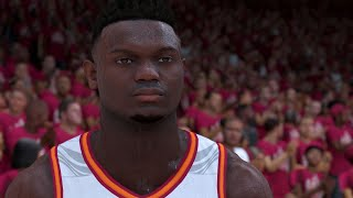 "NBA 2K20 ""Zion Williamson"" My Career EP 1 - 1st Game & The Journey Begins!"