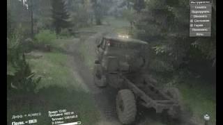 SpinTires. ГАЗ-66. Полная версия.
