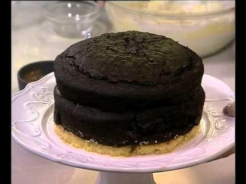 Chocolate millionaire shortbread cake (17.01.2014)