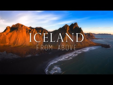 ICELAND from ABOVE - Aerial highlight video taken from all around Iceland