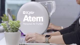 IQAir Atem Personal Air Purifier Office Commercial