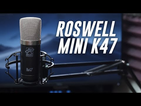 Roswell Pro Audio Mini K47 Review / Test