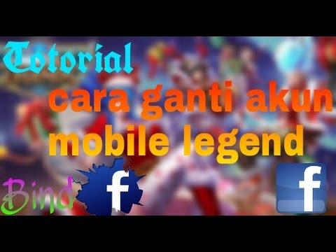 Cara Mengganti akun mobile legends - Bind Facebook #Etutor [bantu saya  mencapai 1k Subs]