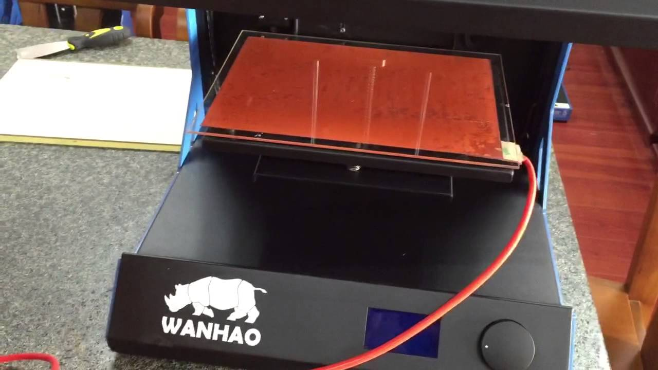 Add HBP onto Wanhao D5S