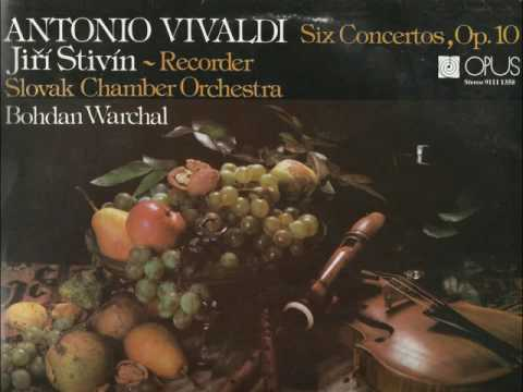 Antonio Vivaldi: Flute Concertos Op.10 (Jiri Stivin, Slovak Chamber Orchestra)
