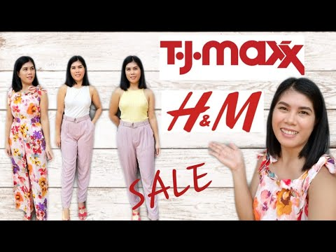 Download H&M and TJ MAXX  TRY ON HAUL 2020 | SALE