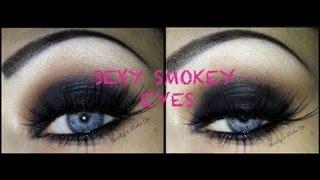 sexy smokey eyes   makeup tutorial
