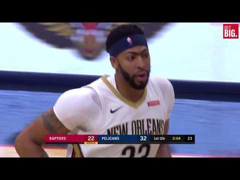 Pelicans vs Raptors First Quarter Highlights - 11/15/17