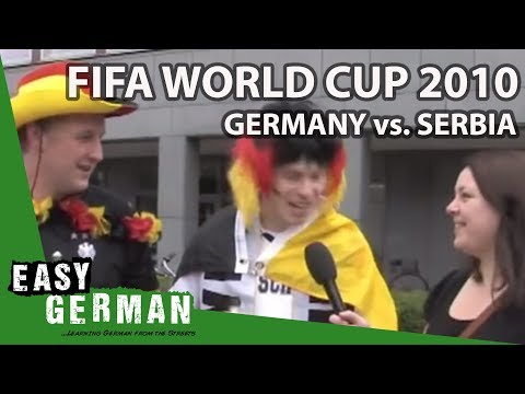 Fifa World Cup 2010: Germany vs. Serbia | Easy German 14