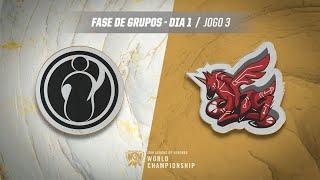 Mundial 2019: Fase de Grupos - Dia 1 | Invictus Gaming x ahq eSports Club (Jogo 3)