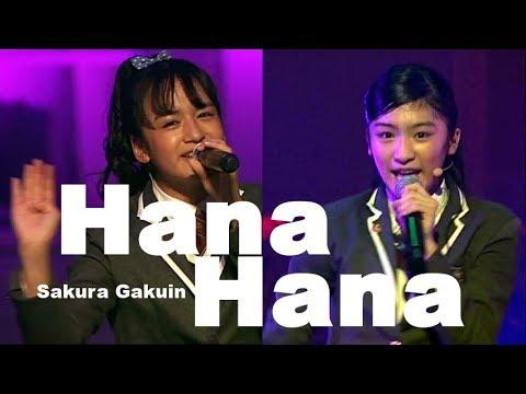 "【UME★Mash】 ""Hana*Hana"" By Sakura Gakuin 2013, 2016 And  2017"