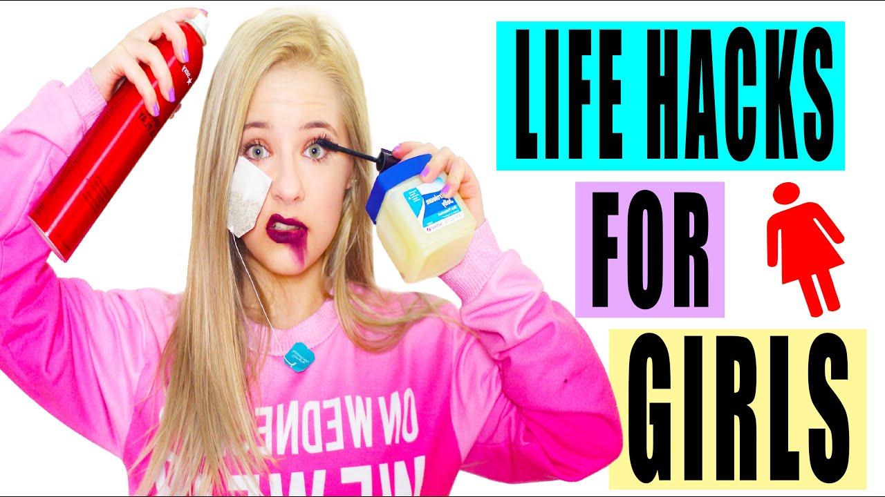 Life Hacks For Girls!