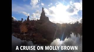 A Cruise on Molly Brown at Disneyland Paris