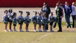 Myrtle Grove Mighty Mites Cheer team GCYSA competition