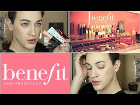One Brand Tutorial: Benefit Cosmetics!   MannyMua