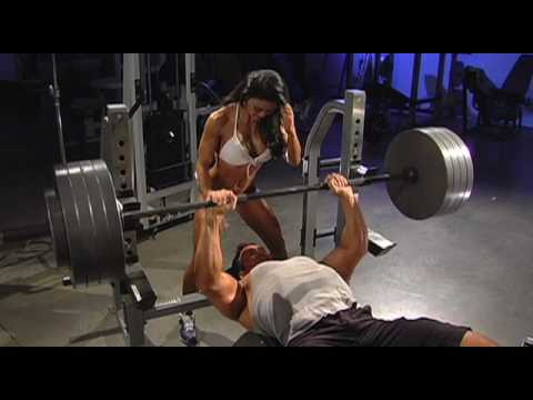 Mike O'Hearn Feb 09 Iron Man Cover Shoot