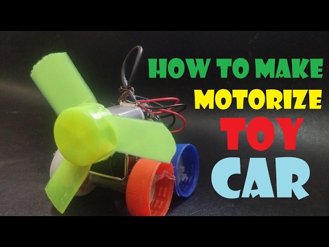 How to Make a Homemade Electric Toy Car