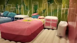 Батутная комната Кидзания