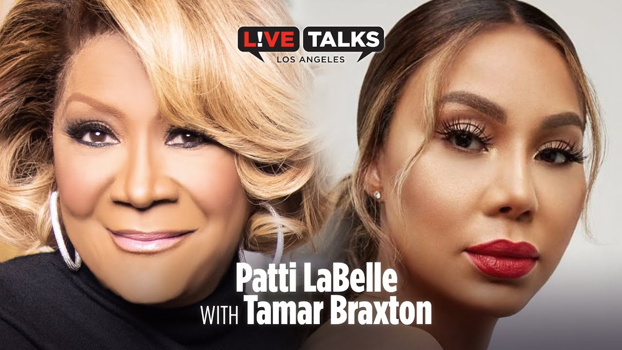 Patti LaBelle in conversation with Tamar Braxton a Live Talks Los Angeles