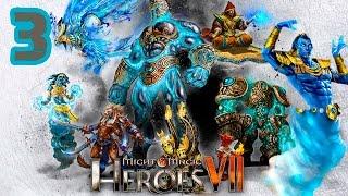 Прохождение Might and Magic Heroes 7 [КАРТА: ПУСТОШИ] #3 - Эхо коллапса