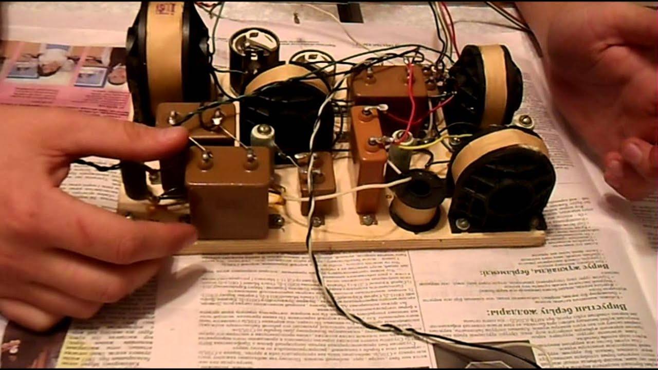 схема из чего состоит акустическая система (калонка)