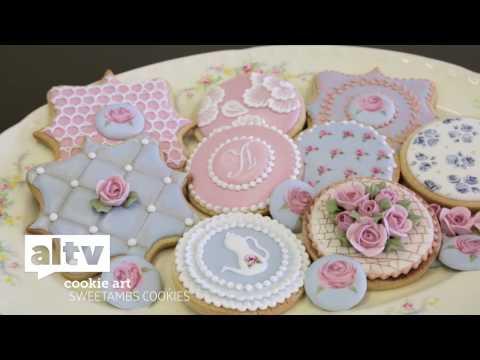 ALTV Presents 'SweetAmbs Cookie Art Tutorial'