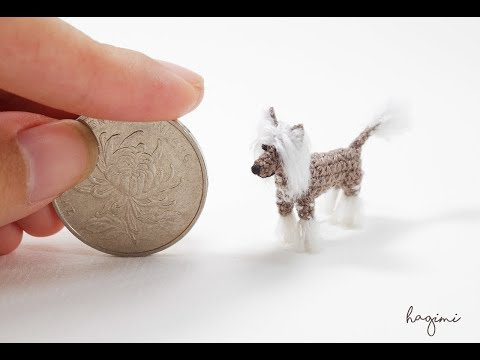 TINY CHINESE CRESTED DOG - Made To Order - Hagimi