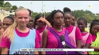 Sport Féminin à l'UNSS, JT 19h en Martinique la 1ère mercredi 10 mars 2021
