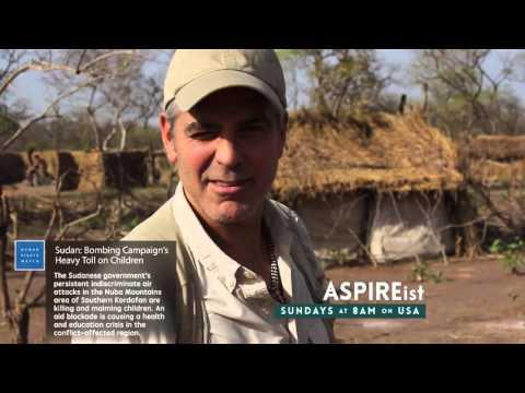 George Clooney for ASPIREist on USA Network