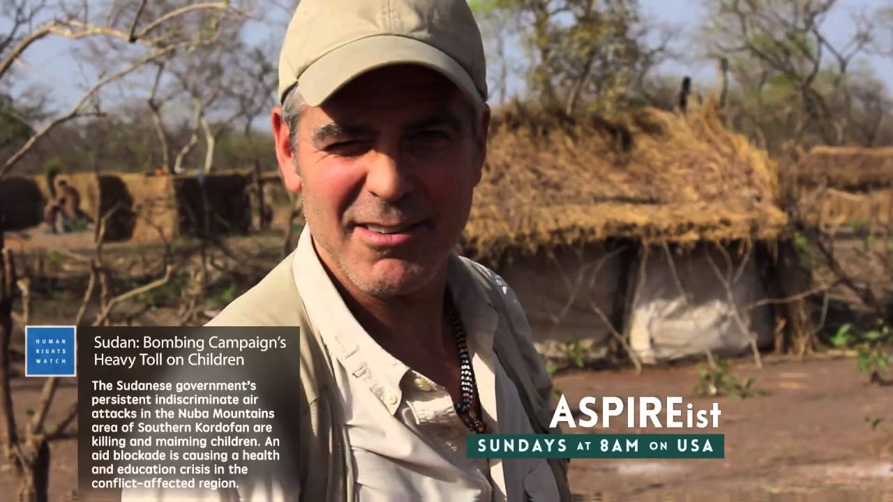 George Clooney for ASPIREist on USA Network