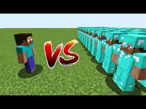 Minecraft Battle: NOOB vs PRO: HEROBRINE VS 10000 PRO CHALLENGE / Animation