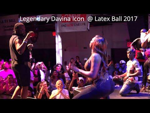 Legendary Davina Icon  @ Latex Ball 2017
