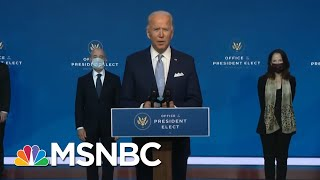 Biden Transition Event Disorienting For Its Competence, Normalcy | Rachel Maddow | MSNBC