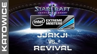 Jjakji vs. RevivaL - Round of 16 1/2 - IEM Katowice 2014 - StarCraft 2