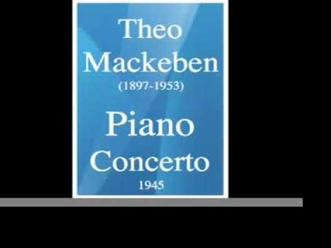 Theo Mackeben (1897-1953) : Piano Concerto (1945)