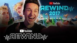 YouTube Rewind: The Shape of 2017 Reaction ft. Jake & Logan Paul | #YouTubeRewind