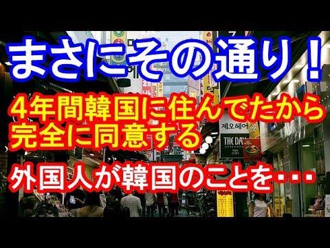 【海外の反応】まさにその通り!!!外国人が韓国の悪いところを暴露した。日本に対してひどいよ